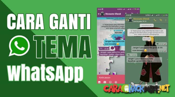 Cara Merubah Background Chat Whatsapp Di Iphone