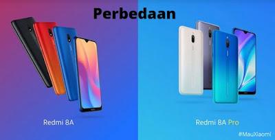 Perbedaan Redmi 8A Pro dan Redmi 8A