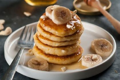 Resep dan Cara Mudah Membuat Pancake Pisang