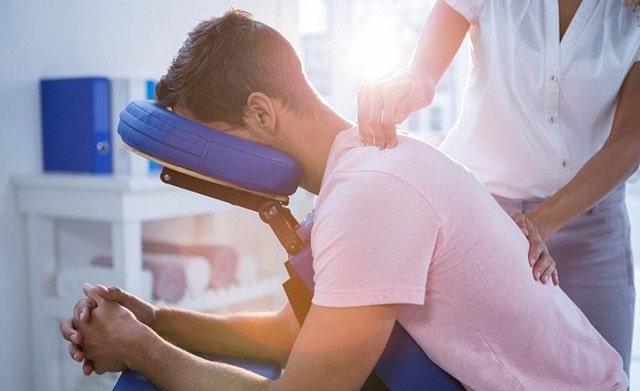 health benefits corporate chair massage frugal massages work