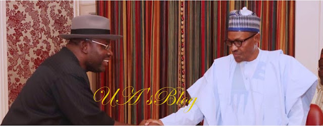 Dickson takes power devolution campaign to Buhari
