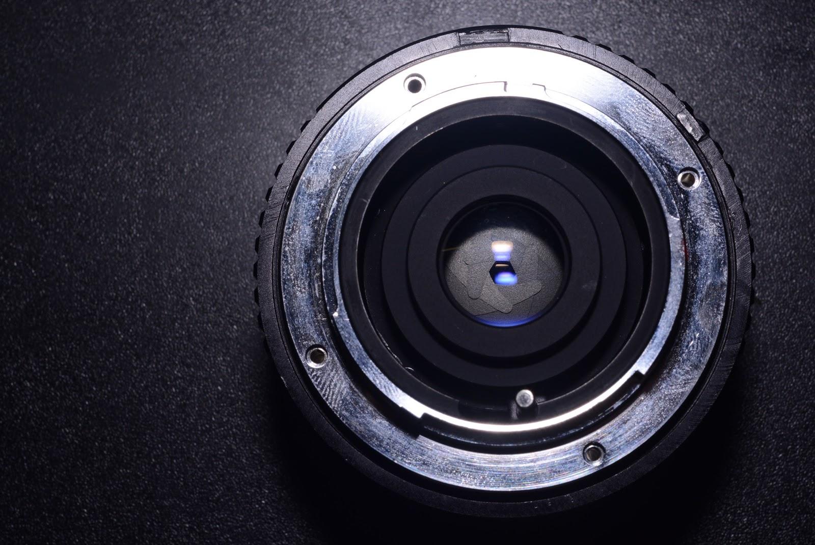 Alfo Supercolor 28mm f/28 By Samyang (Minolta SR to Nikon F Conversion)