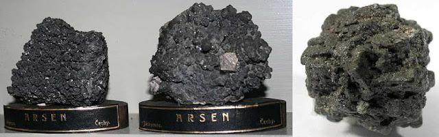 THẠCH TÍN - Arsennicum - Nguyên liệu làm Thuốc nguồn gốc khoáng vật