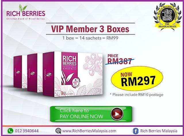 VIP MEMBER 3 BOXES