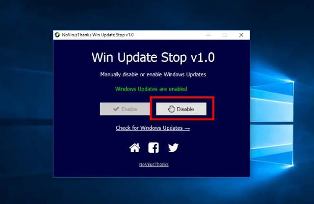 Cara Ampuh Mematikan Auto Update Windows 10 Secara Paksa Terbaru 2019