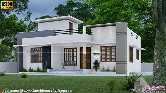 2 bedroom modern style budget friendly home