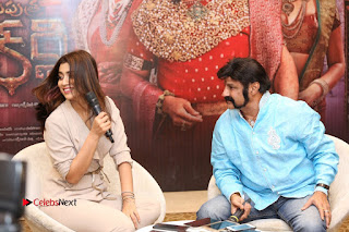 Shriya Saran Nandamuri Balakrishna at Gautamiputra Satakarni Team Press Meet Stills  0184.JPG