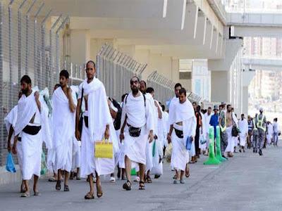 صورة لحجاج المسلمين