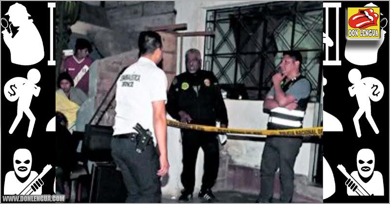 Sicario venezolano asesinó a un trabajador de construcción civil en Perú