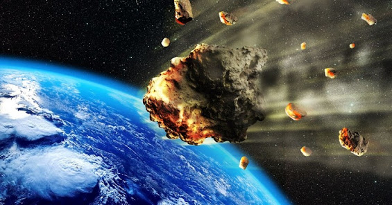 Aliens told the Irishman that humanity will destroy a giant asteroid