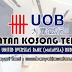Jawatan Kosong di United Overseas Bank (Malaysia) Bhd - 18 April 2019