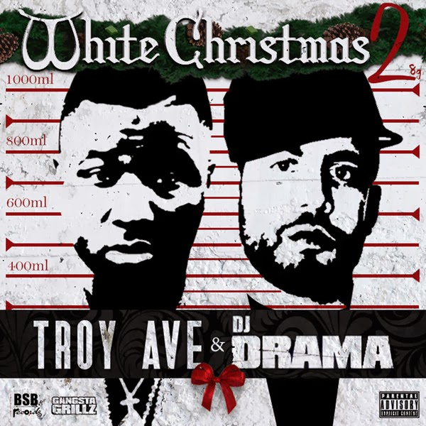 Troy Ave - White Christmas 2  Cover