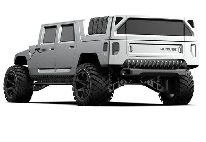 Hummer H1 2025 lạ lẫm trong thiết kế mới