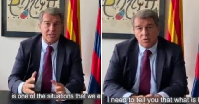 'We will fix it': President Laporta sends message of encouragement to Barcelona fans after Bayern defeat