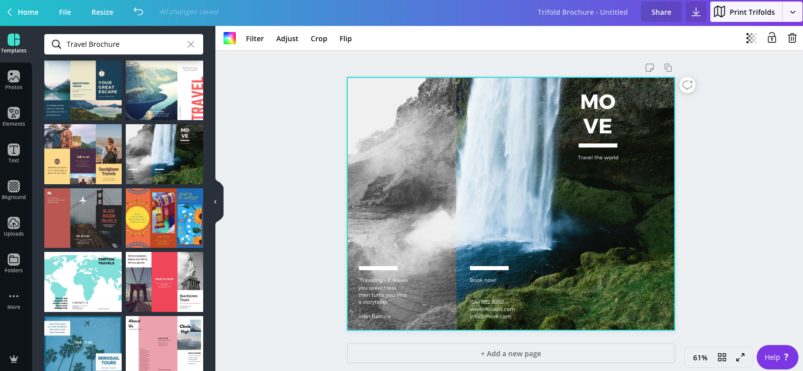Canva Adds New Trifold Design Templates