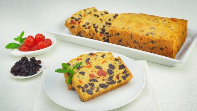 Resep Fruit Cake Panggang