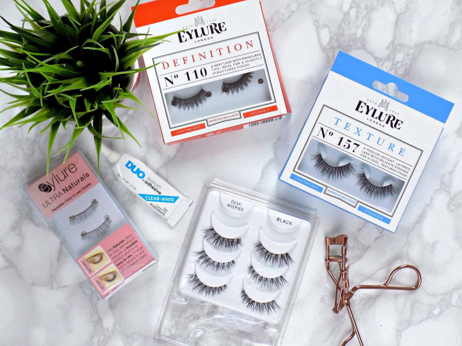 tips on applying false lashes