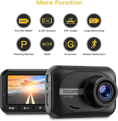 TOGUARD CE18 Car Full HD Mini Dash Cam