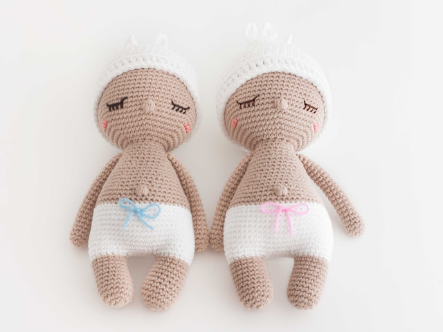 Amigurumi-bebe-baby-girl-boy