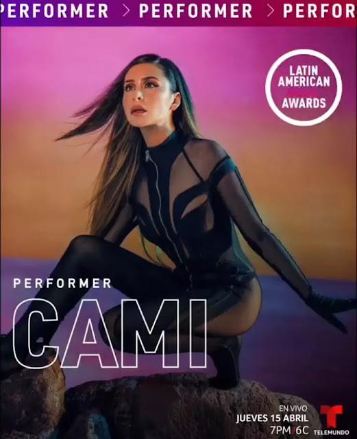 Cami se presentará por primera vez en los Latin American Music Awards