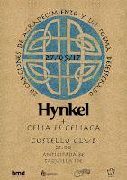 Concierto de Hynkel y Celia es Celíaca en Costello Club