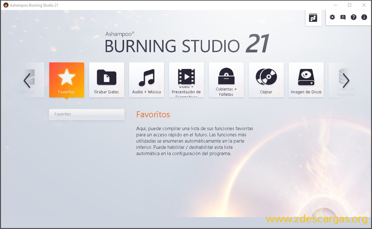 Ashampoo Burning Studio 21 Full Español