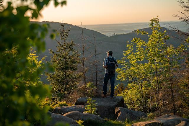 Kästeklippentour und Sonnenuntergang im Harz | Wandern in Bad Harzburg 16