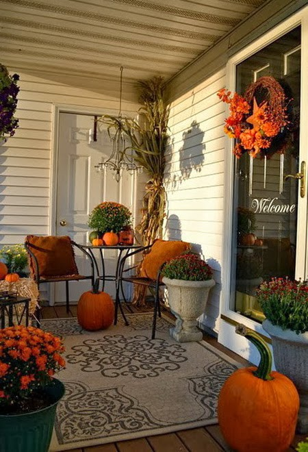 21 rosemary lane autumn porch bountiful beginnings - Fall porch decorating ideas ...