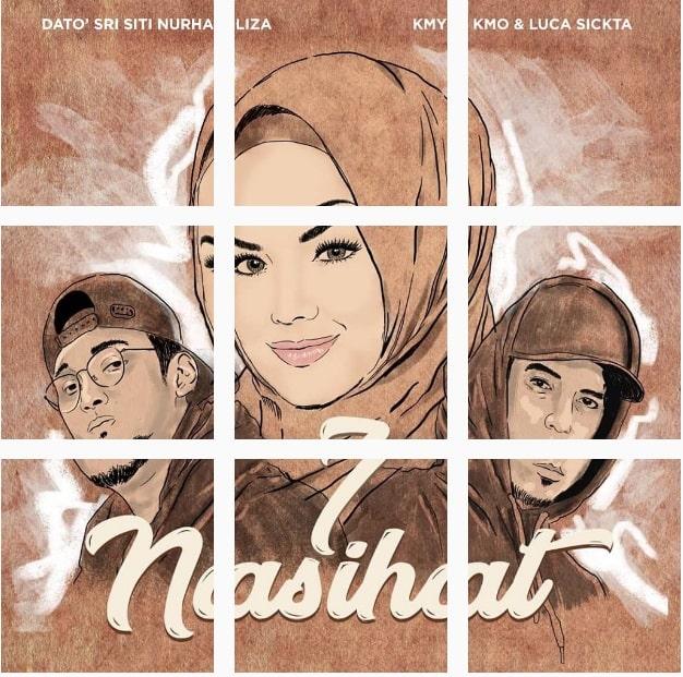 Lirik Lagu 7 Nasihat - Dato' Sri Siti Nurhaliza, Kmy Kmo & Luca Sickta