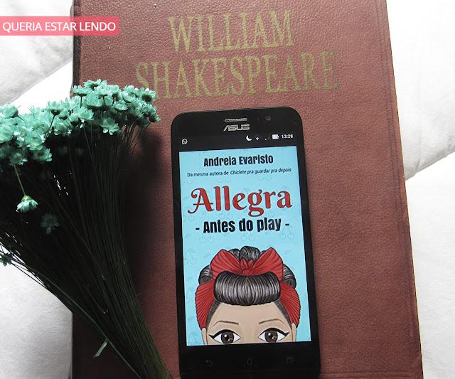 Li até a Página 100 e... #40 - Allegra - Antes do Play