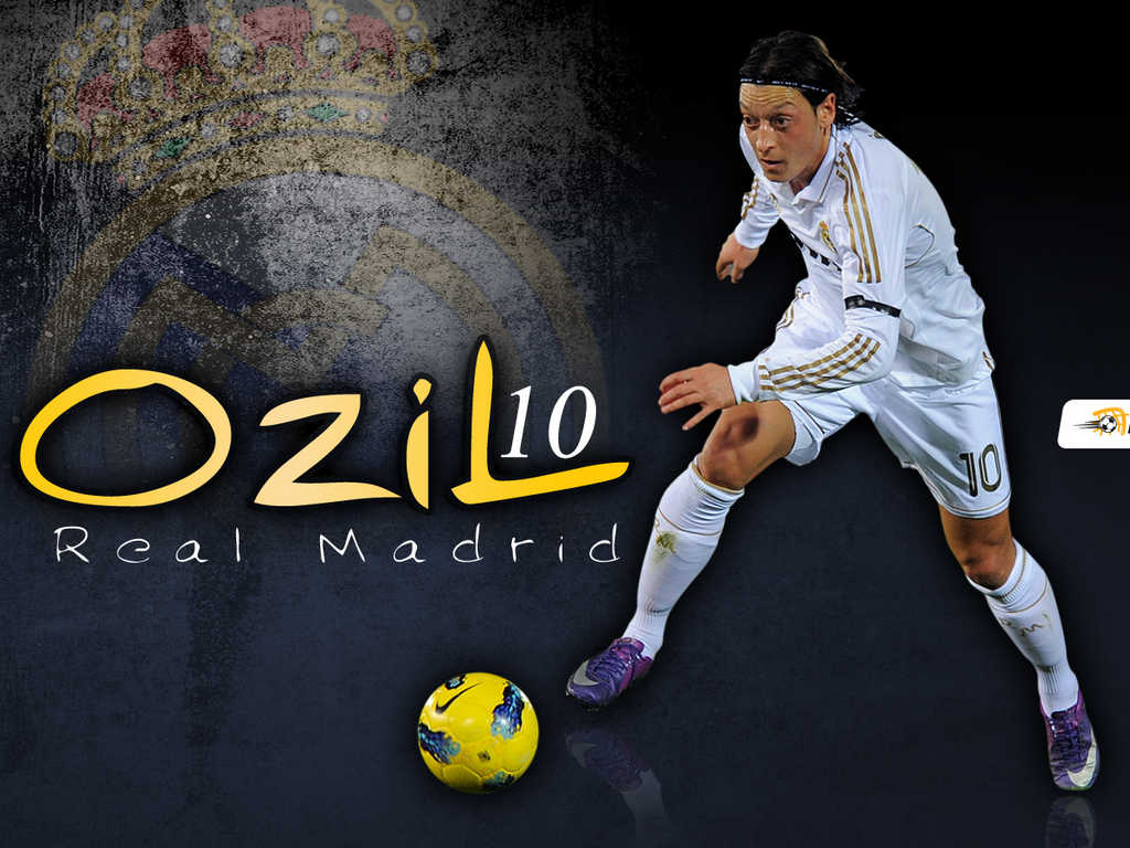 Young Sports Stars: Mesut Ozil Hd Wallpapers 2012