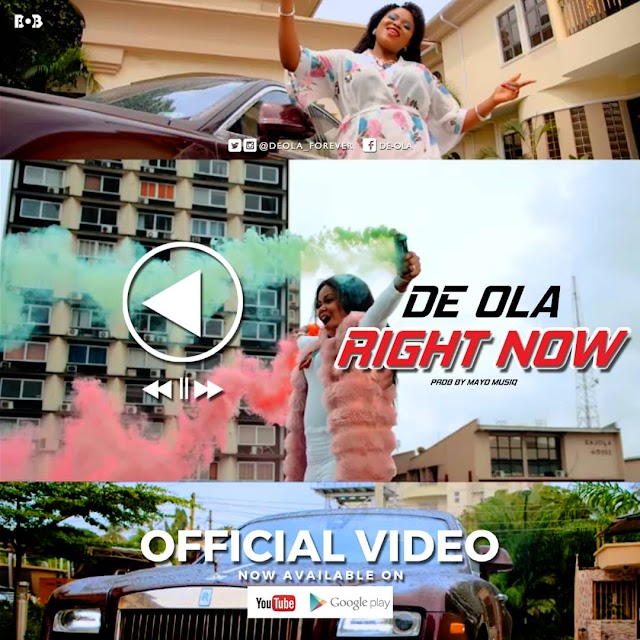 De-Ola Premieres New Visuals - 'Right Now' || @deola_forever