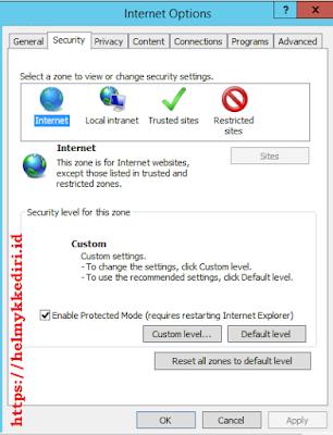 internet explorer tidak bisa download