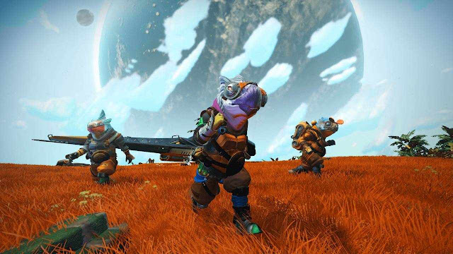 No Man's Sky, another game joins the still manageable ranks of cross-platform multiplayer games