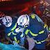 Bombeiros Militares resgataram vítima presa as ferragens na BR 020 em Luís Eduardo Magalhães