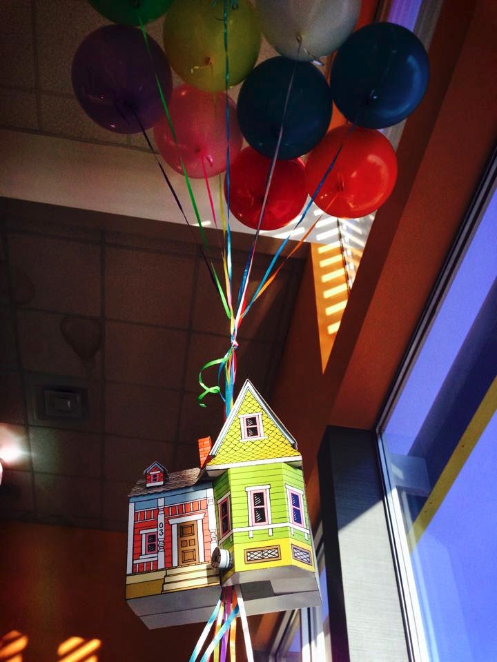 photo regarding House From Up Printable referred to as Peach Bum: UP Space Printable Template!