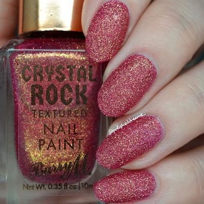 Barry M Crystal Rock Collection A/W 19 Pink Tourmaline