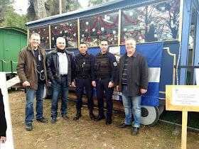 """Ολοκληρώθηκε με μεγάλη επιτυχία, η παρουσία της Τοπικής Διοίκησης Πιερίας / Διεθνής Ένωσης Αστυνομικών, στο """"Πάρκο των Χρωμάτων"""", κατά τη διάρκεια των εορτών των Χριστουγέννων."""