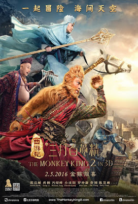The Monkey King 2 2016 HC HDRip 480p 300mb ESub hollywood movie The Monkey King 2 300mb 480p compressed small size brrip free download or watch online at world4ufree.cc