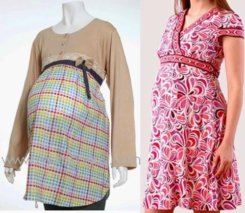 model baju hamil lucu