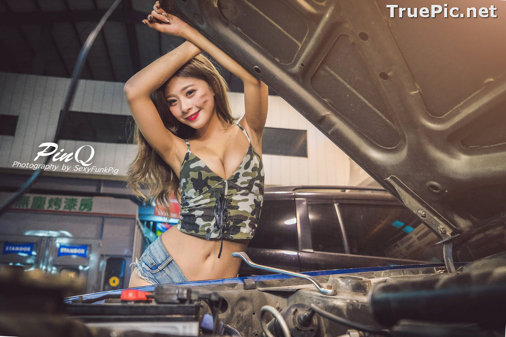 Image Taiwanese Model - PinQ憑果茱 - Hot Sexy Girl Car Mechanic - TruePic.net - Picture-8
