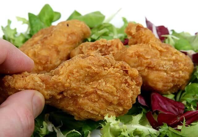 تحضير الدجاج على الطريقة الأميركية