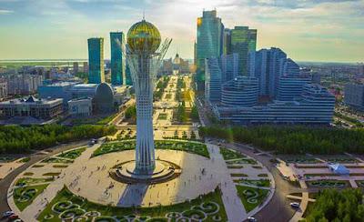 Astana, the capital city of Kazakhstan