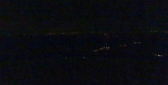 Światła w dolinach.