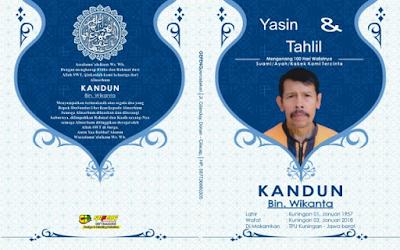 Download Cover Yasin cdr [Gratis 100% Sampul Buku Yasin]