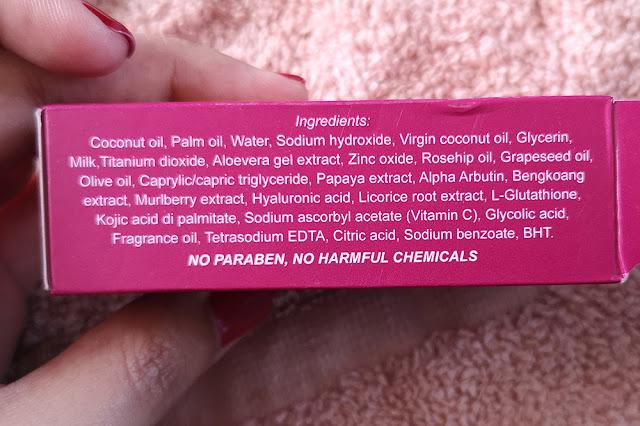 SOAPLADA Fast Whitening soap bar