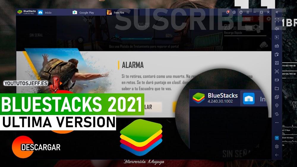 Como Descargar Bluestacks Ultima Version 2021, El Mejor Emulador Android