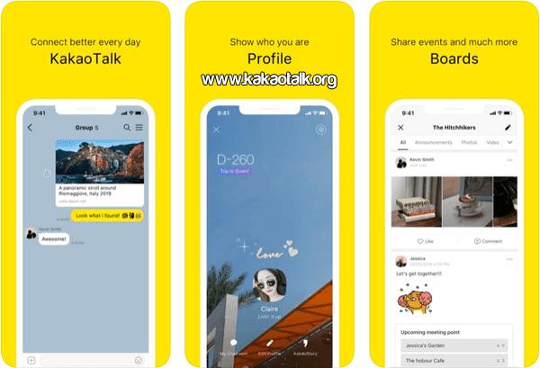 KakaoTalk para iPhone