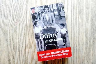 Lundi Librairie : Le chagrin - Lionel Duroy