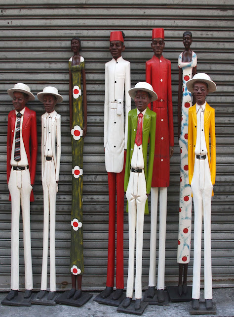 African Decor│Colonial Wood Figures 7
